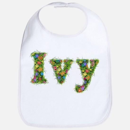 Ivy Floral Bib