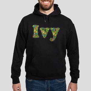 Ivy Floral Hoodie (dark)