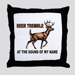 DEER ME Throw Pillow