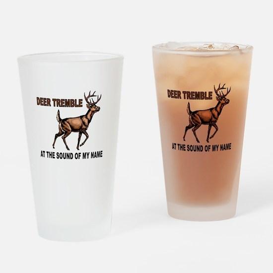 DEER ME Drinking Glass