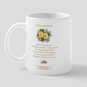A Yellow Rose2 Mug Left
