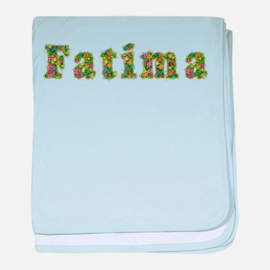 Fatima Floral baby blanket