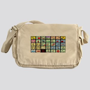 AAC Rainbow of Rights Messenger Bag
