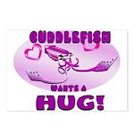 Cuddlefish wants a hug Postcards (Package of 8)