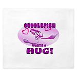 Cuddlefish wants a hug King Duvet