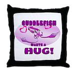 Cuddlefish wants a hug Throw Pillow