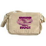 Cuddlefish wants a hug Messenger Bag