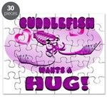 Cuddlefish wants a hug Puzzle