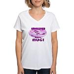 Cuddlefish wants a hug Women's V-Neck T-Shirt