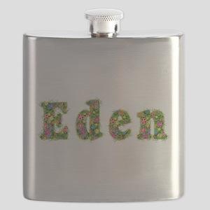 Eden Floral Flask