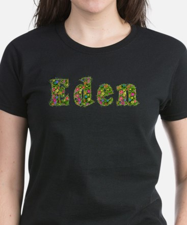 Eden Floral Women's Dark T-Shirt