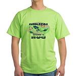 Cuddlefish wants a hug Green T-Shirt