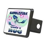Cuddlefish wants a hug Rectangular Hitch Cover