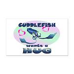 Cuddlefish wants a hug Rectangle Car Magnet