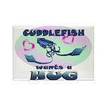 Cuddlefish wants a hug Rectangle Magnet