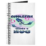 Cuddlefish wants a hug Journal