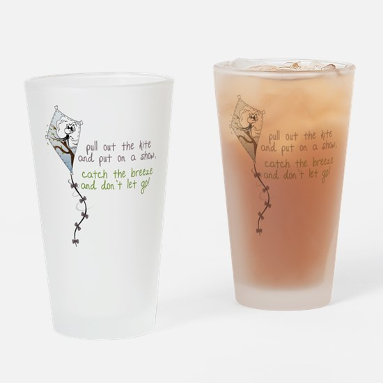 Catch The Breeze Drinking Glass