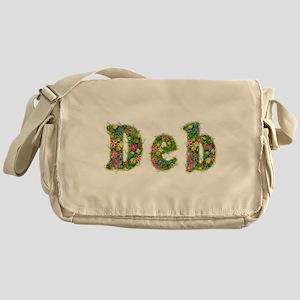 Deb Floral Messenger Bag
