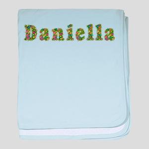 Daniella Floral baby blanket