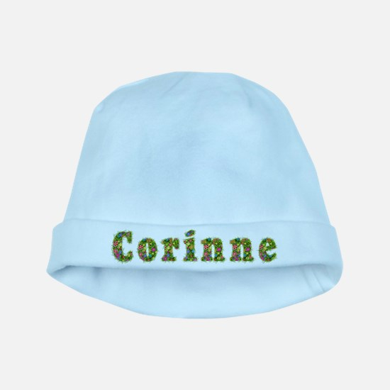 Corinne Floral baby hat