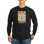 Paleo Jay's Smoothie Cafe Long Sleeve Dark T-Shirt