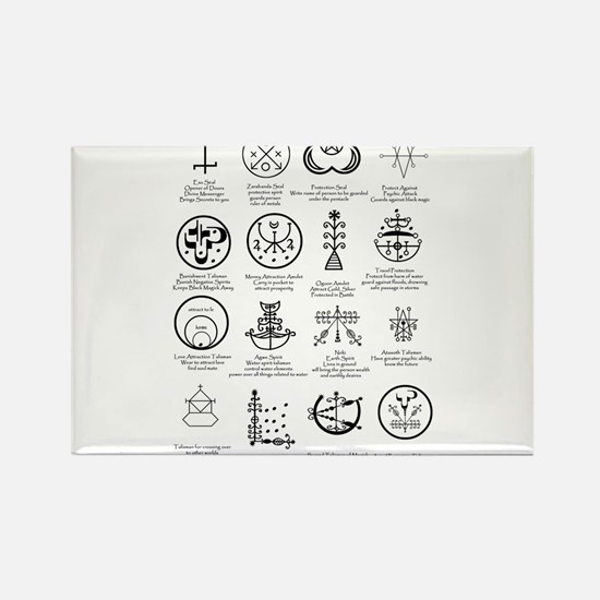 Cute Occult Rectangle Magnet (10 pack)