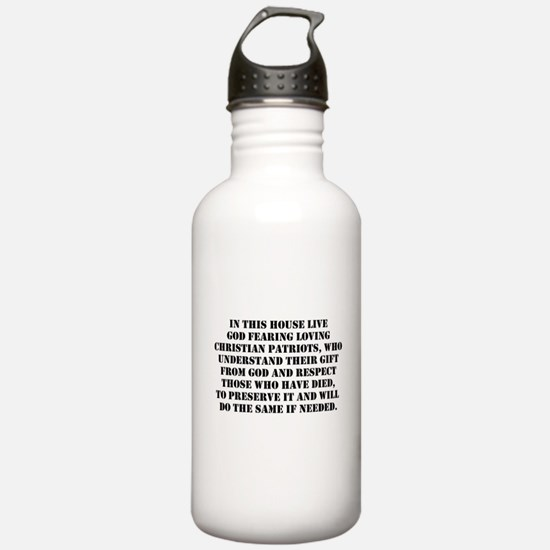 PATRIOTIC EXPRESSIONS Water Bottle