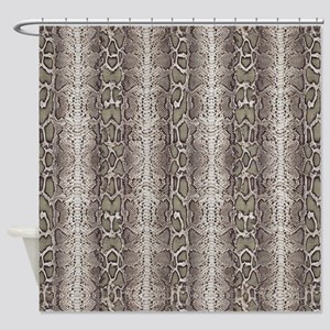 Awesome Snakeskin Shower Curtain
