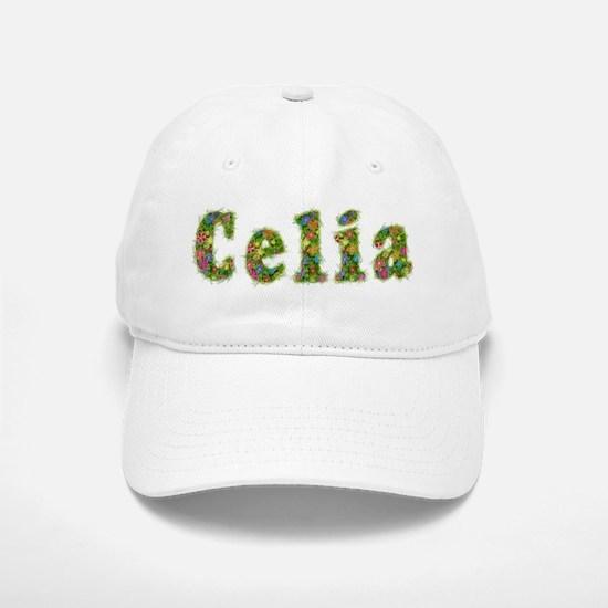Celia Floral Baseball Baseball Cap