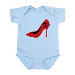 Evil High Heel Shoe Infant Bodysuit