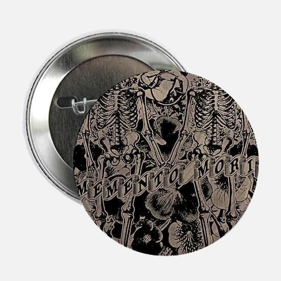 "Memento Mori Collage 2.25"" Button"