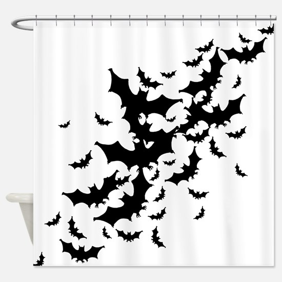 Lots Of Bats Shower Curtain