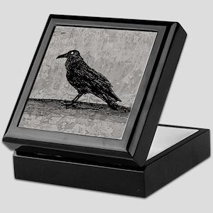 A Raven Keepsake Box