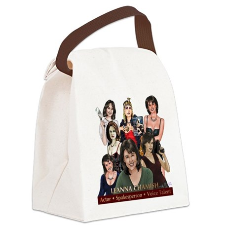 Leanna Chamish Canvas Lunch Bag