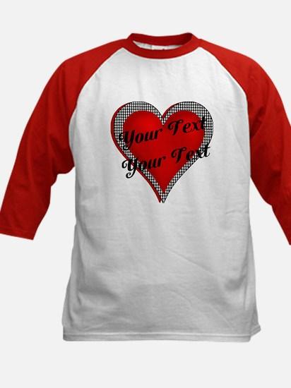 Crimson Heart Kids Baseball Jersey