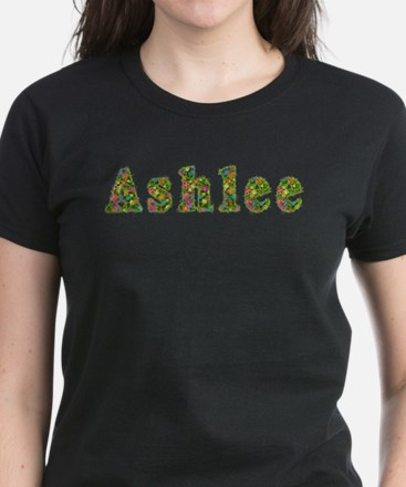 Ashlee Floral Women's Dark T-Shirt