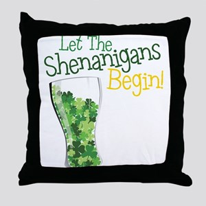 Shenanigans Throw Pillow