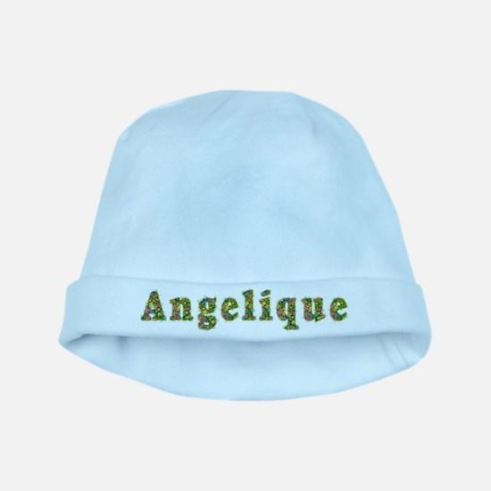 Angelique Floral baby hat