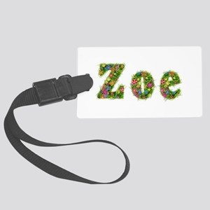Zoe Floral Large Luggage Tag