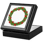Christmas Wreath Keepsake Box