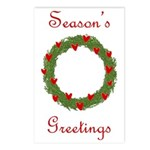 Season's Greetings Postcards