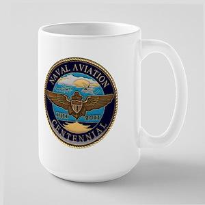 Naval Aviation Centennial Large Mug