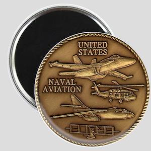 Bronze Naval Aviation Centennial Magnet
