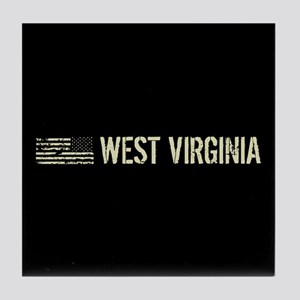 Black Flag: West Virginia Tile Coaster