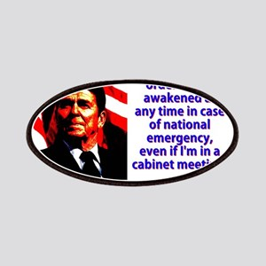 I Have Left Orders - Ronald Reagan Patch