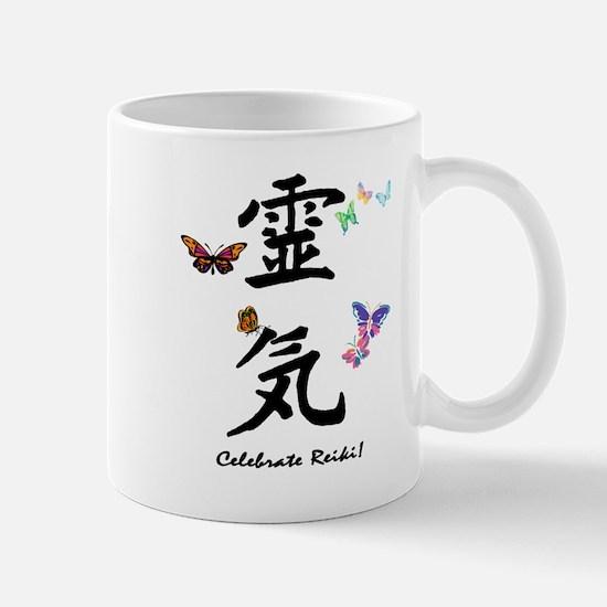 Unique Japanese symbols Mug
