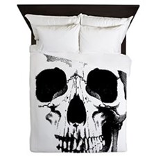 Skull Face Queen Duvet