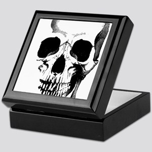 Skull Face Keepsake Box