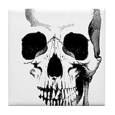 Skull Face Tile Coaster