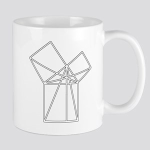 Euclid's Pythagorean Proof Mug